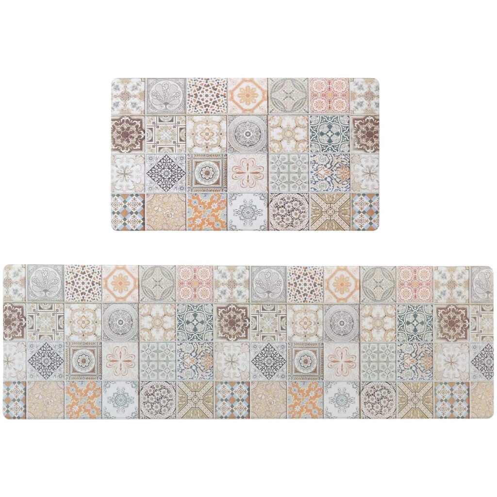 Ailsan Bohemia Anti Fatigue Kitchen Rug Set