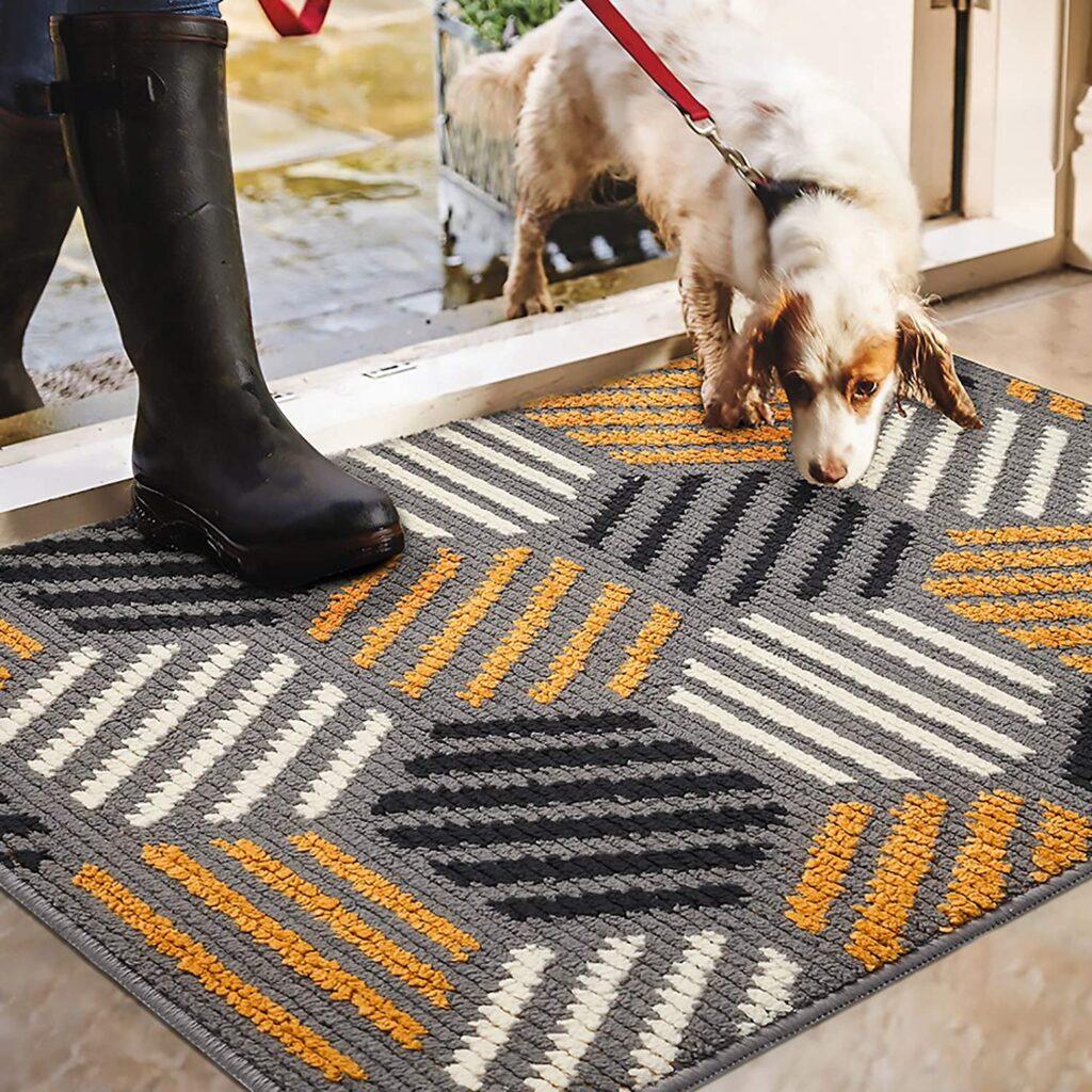 Color&Geometry Indoor Doormat