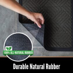 Durable Natural Rubber Door Mat