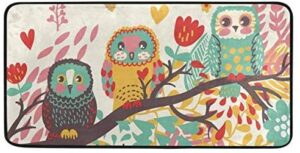 Kitchen Rugs Cute Owls